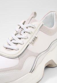 KARL LAGERFELD - LAZARE  - Baskets basses - white - 2