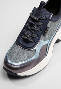 KARL LAGERFELD - LAZARE LACE MIX - Trainers - navy mix - 2