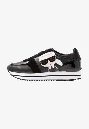VELOCITA IKONIC METEOR LACE - Sneakers laag - black