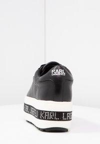 KARL LAGERFELD - KOBO KUP DIGI LACE - Trainers - black - 5