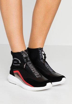 VITESSE NEO SOCK ZIP  - Vysoké tenisky - black
