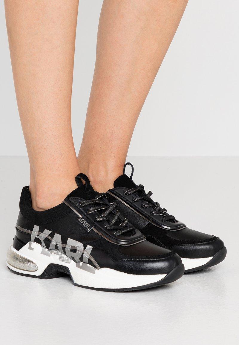 KARL LAGERFELD - LAZARE LOGO  - Sneakers - black