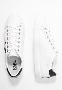 KARL LAGERFELD - KUPSOLE IKONIC LACE - Sneakersy niskie - white - 3