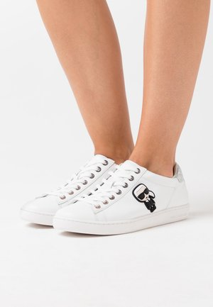 KUPSOLE IKONIC LACE - Sneakers basse - white/silver