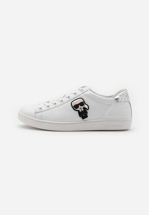 KUPSOLE IKONIC LACE - Sneakersy niskie - white/silver