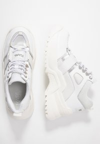 KARL LAGERFELD - QUEST HIKER  - Baskets basses - white - 3