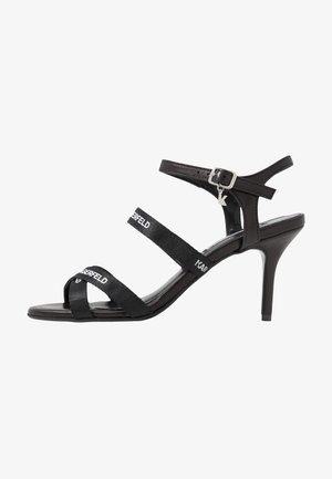 SARABANDE STRAP  - High heeled sandals - black