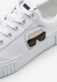 KARL LAGERFELD - KAMPUS IKONIC LACE - Trainers - white - 6