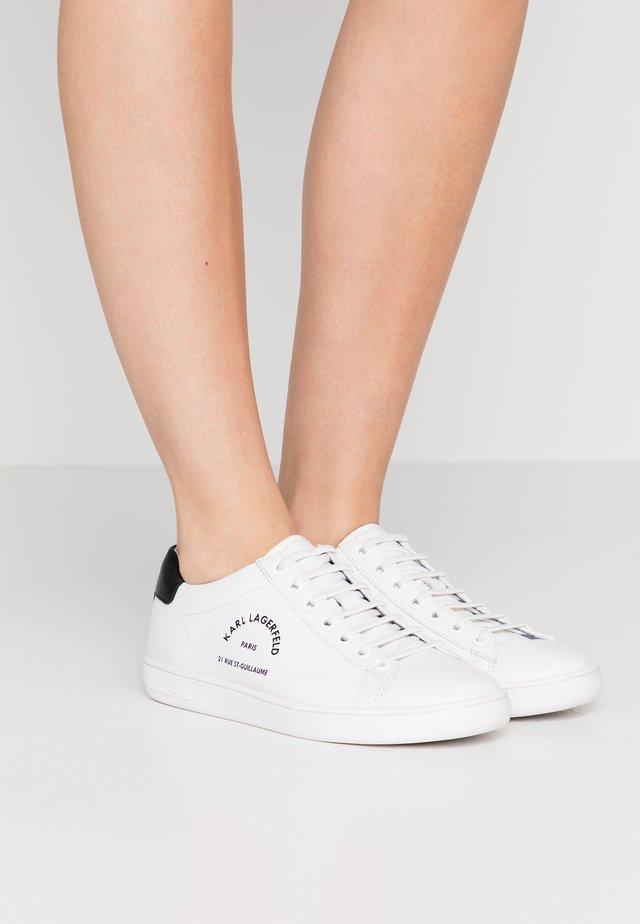 KUPSOLE II MAISON LACE - Sneakers basse - white