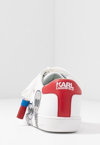 KARL LAGERFELD - KUPSOLE II PIXEL PAIR LACE - Sneakers laag - white - 5