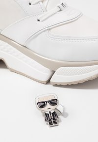 KARL LAGERFELD - AVENTUR LACE SHOE - Trainers - white - 7