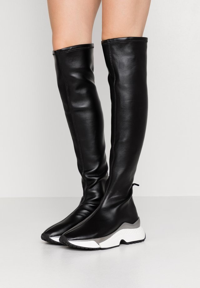 AVENTUR KNEE BOOT - Over-the-knee boots - black