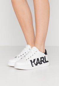 KARL LAGERFELD - KAPRI LOGO  - Trainers - white - 0