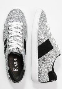 KARL LAGERFELD - KUPSOLE DISCO LACE - Tenisky - glitter silver - 3