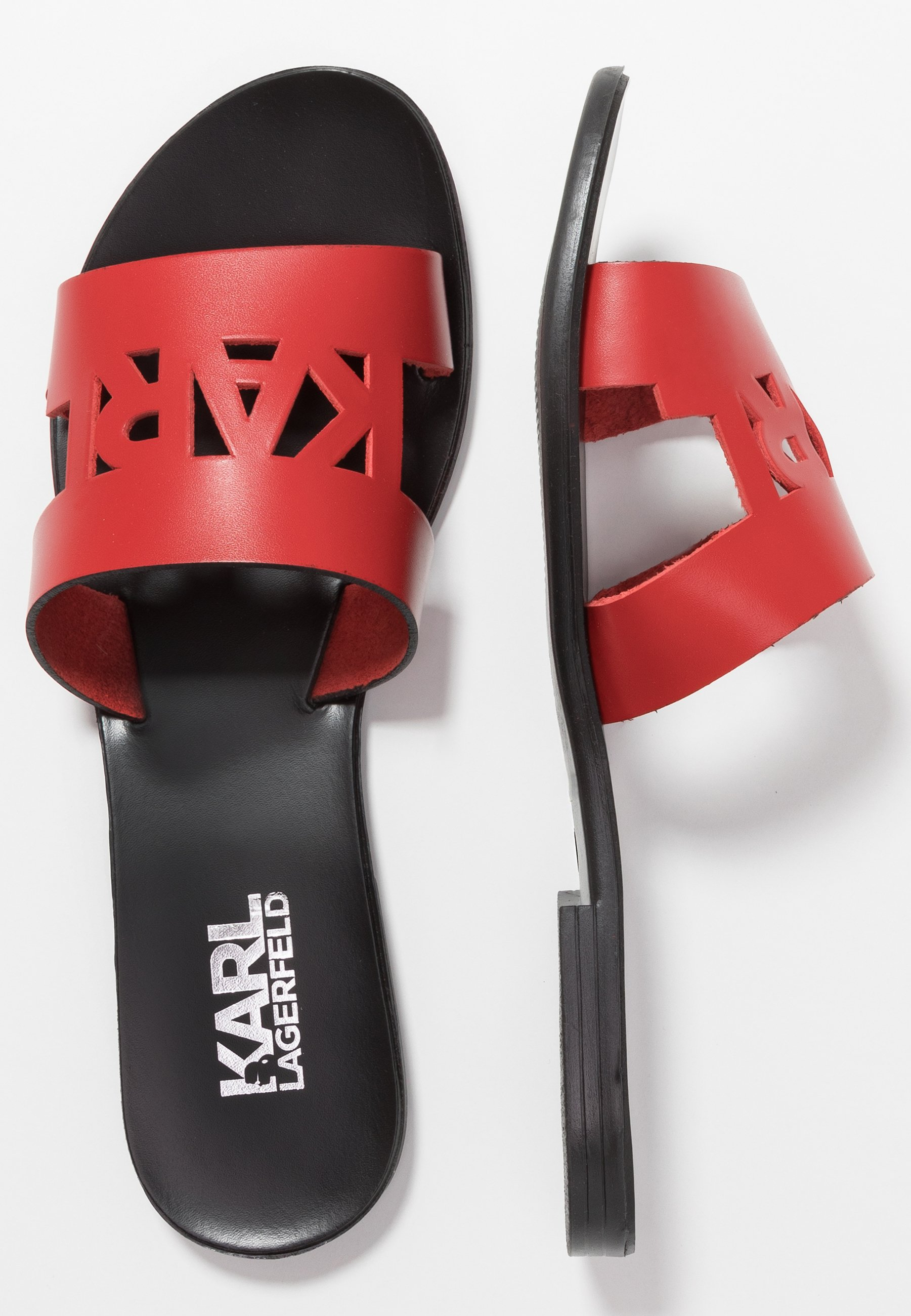 KARL LAGERFELD SKOOT KUT OUT - Slip-ins - red