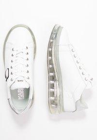 KARL LAGERFELD - KAPRI KUSHION IKONIC LACE - Tenisky - white/silver - 3
