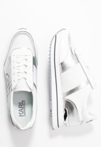 KARL LAGERFELD - VELOCITA MAISON LACE - Trainers - silver - 3