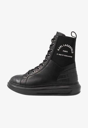 KAPRI MAISON - Zapatillas altas - black