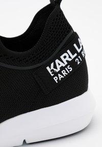 KARL LAGERFELD - VITESSE CHAKRA CROSSLACE - Trainers - black - 3