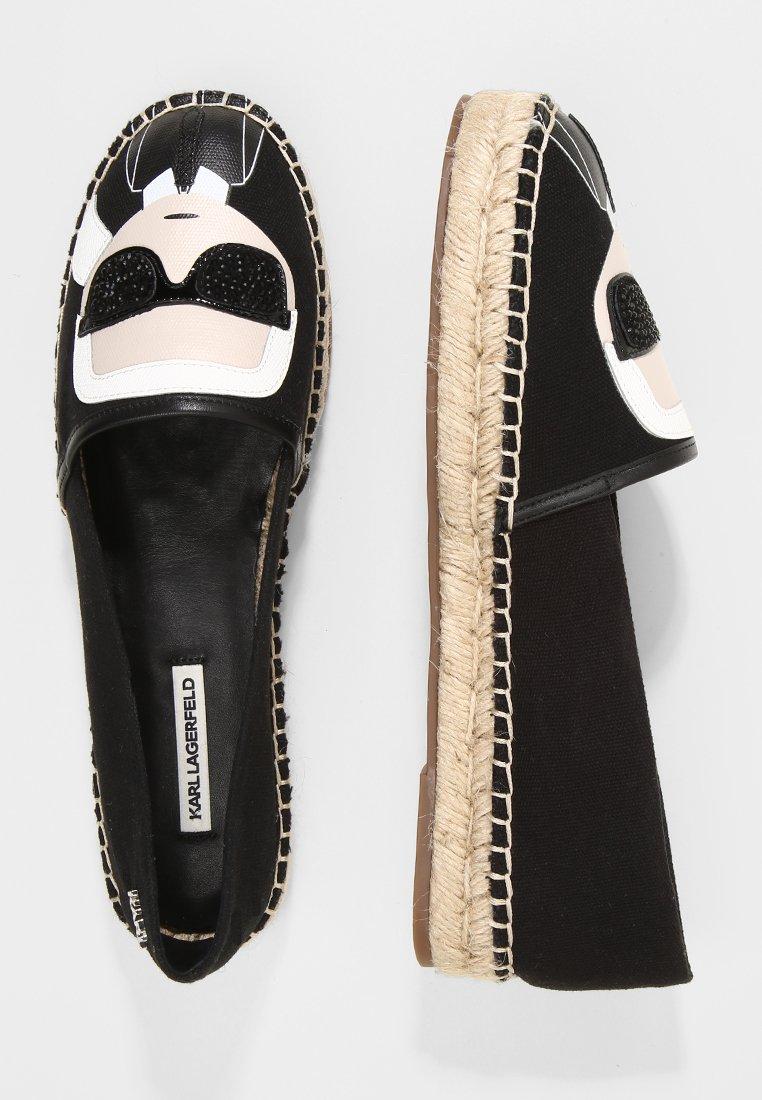 Karl Lagerfeld Kamini Ikonic Slip On - Espadrilles Black