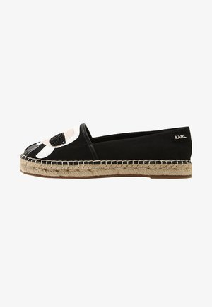 KAMINI IKONIC SLIP ON - Espadrilky - black