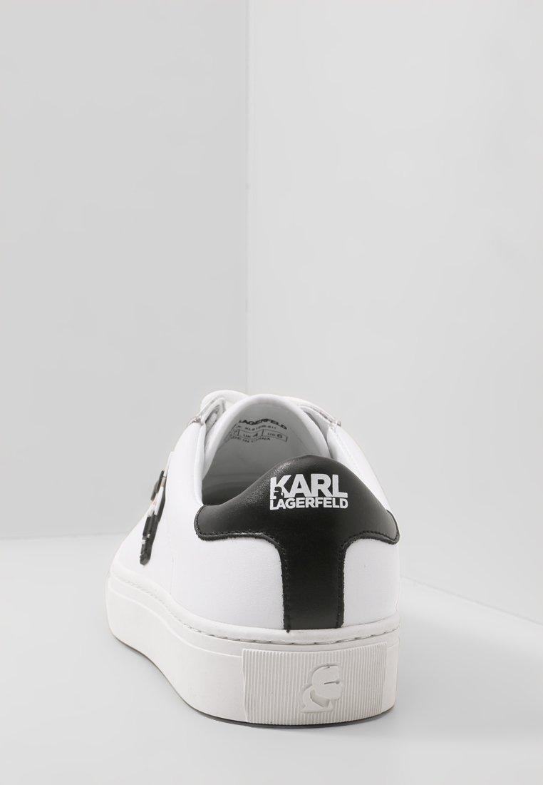 LAGERFELD KARL IKONICLACEBaskets basses KUPSOLE KARL white R43Aj5L