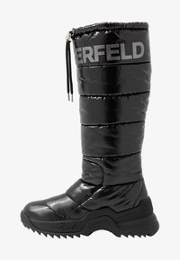 KARL LAGERFELD - QUEST BOOT - Vinterstøvler - black - 1