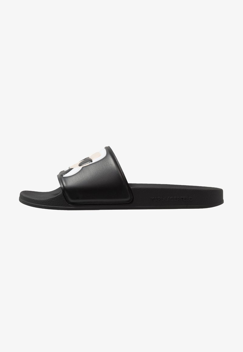 KARL LAGERFELD - KONDO IKONIC SLIDE - Pantofle - black