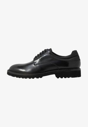 TERRADERBY LACE UP - Zapatos de vestir - black