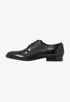 URANO DERBY LACE - Smart lace-ups - black