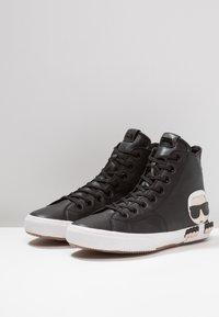 KARL LAGERFELD - KAMPUS MID CUT - Sneakers high - black - 2