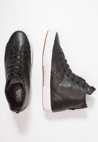 KARL LAGERFELD - KAMPUS MID CUT - Sneakers high - black - 1