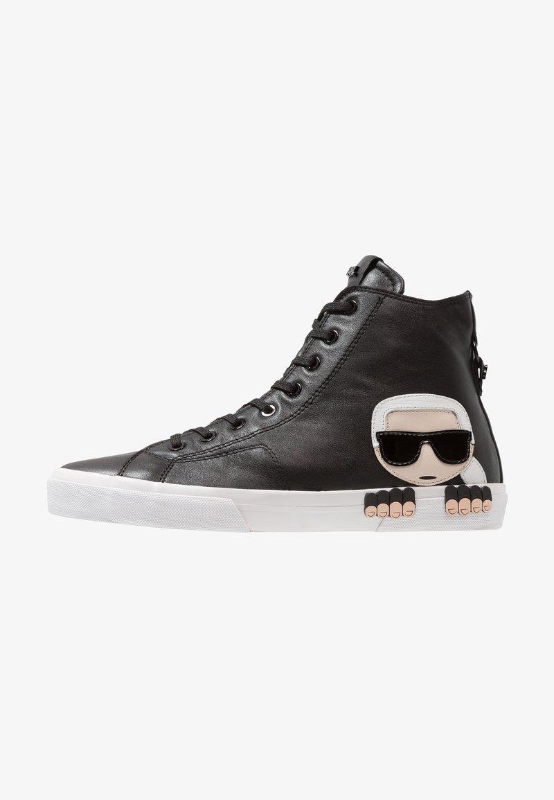 KARL LAGERFELD - KAMPUS MID CUT - Sneakers high - black