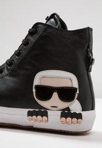KARL LAGERFELD - KAMPUS MID CUT - Sneakers high - black - 5