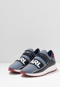 KARL LAGERFELD - VEKTOR BAND - Sneakersy niskie - navy/blue - 2