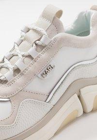 KARL LAGERFELD - VENTURE LAZARUS  - Sneakers laag - white - 5