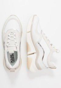 KARL LAGERFELD - VENTURE LAZARUS  - Sneakers laag - white - 1