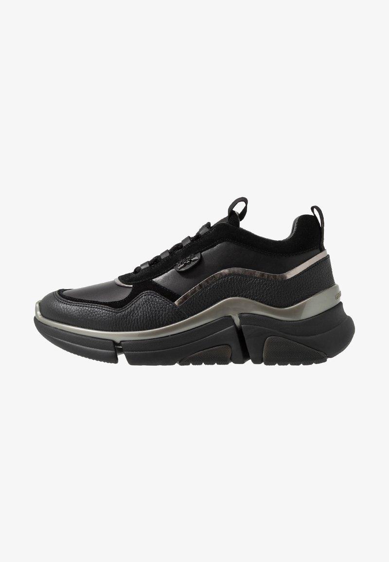 KARL LAGERFELD - VENTURE LAZARUS  - Sneakers laag - black/mono