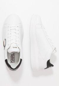 KARL LAGERFELD - KAPRI MENS IKONIC 3D LACE - Sneakers basse - white - 1