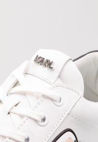 KARL LAGERFELD - KAPRI MENS IKONIC 3D LACE - Sneakers basse - white - 5