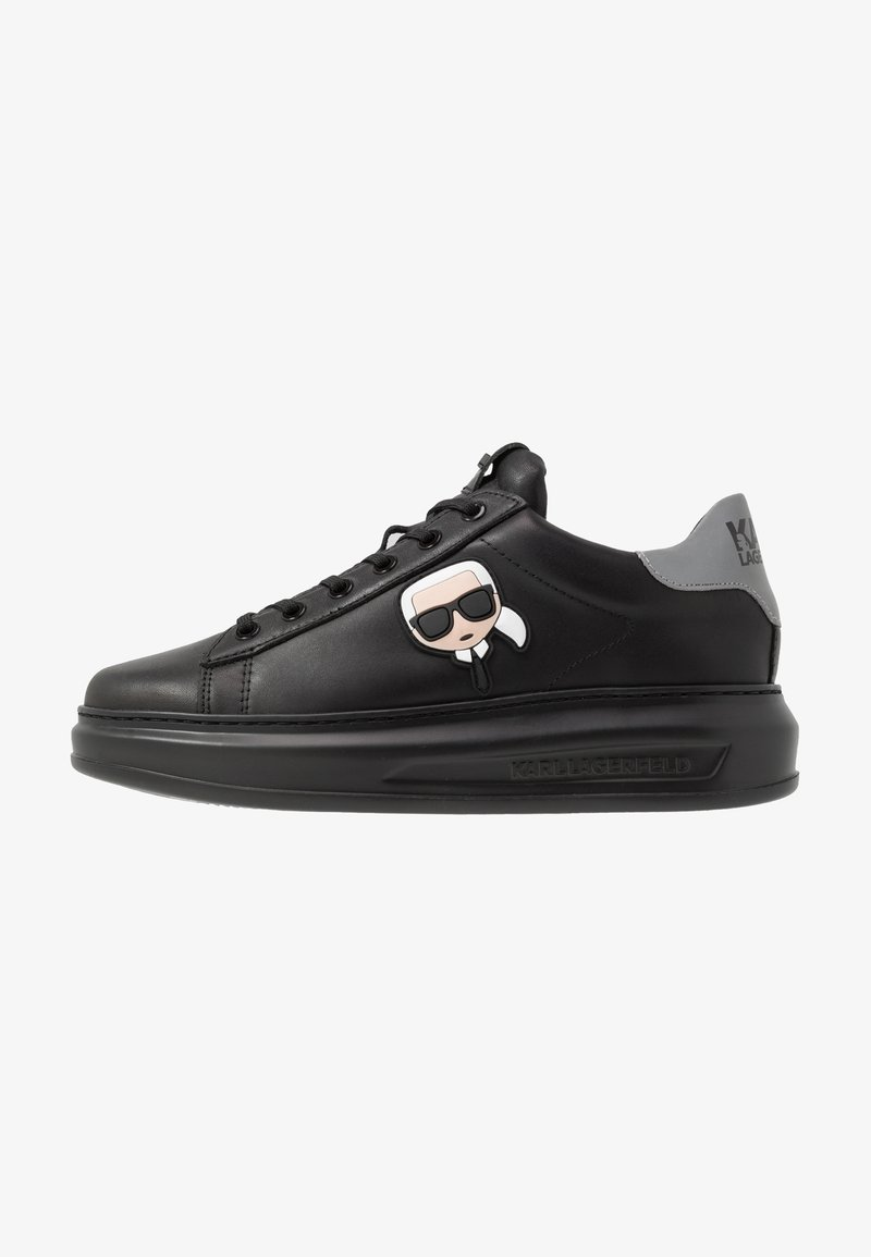 KARL LAGERFELD - KAPRI MENS IKONIC 3D LACE - Baskets basses - black