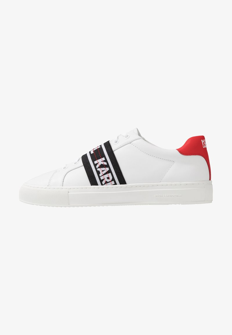 KARL LAGERFELD - KUPSOLE KARL BAND LACE - Zapatillas - white