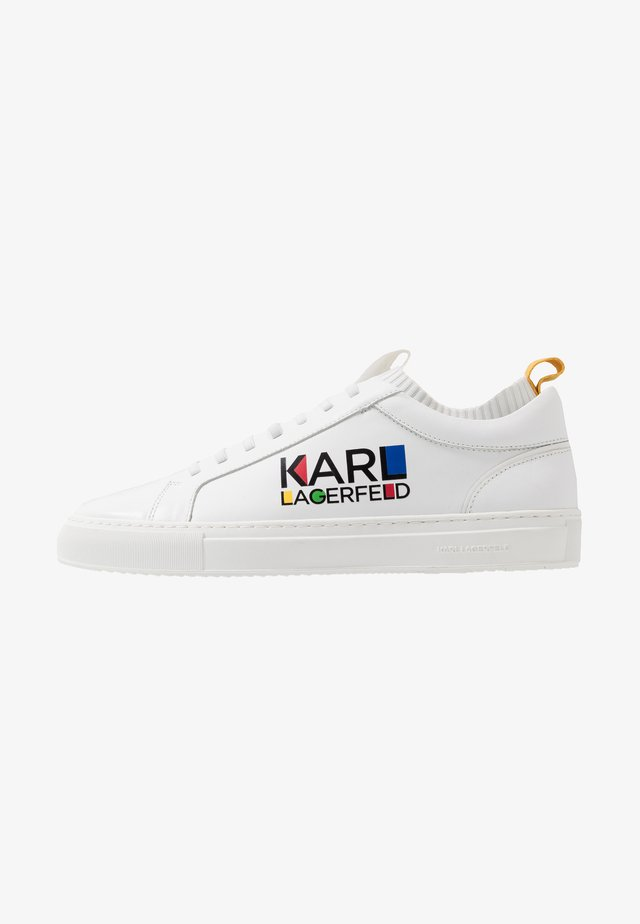 HAUS LOGO LACE - Sneakers laag - white