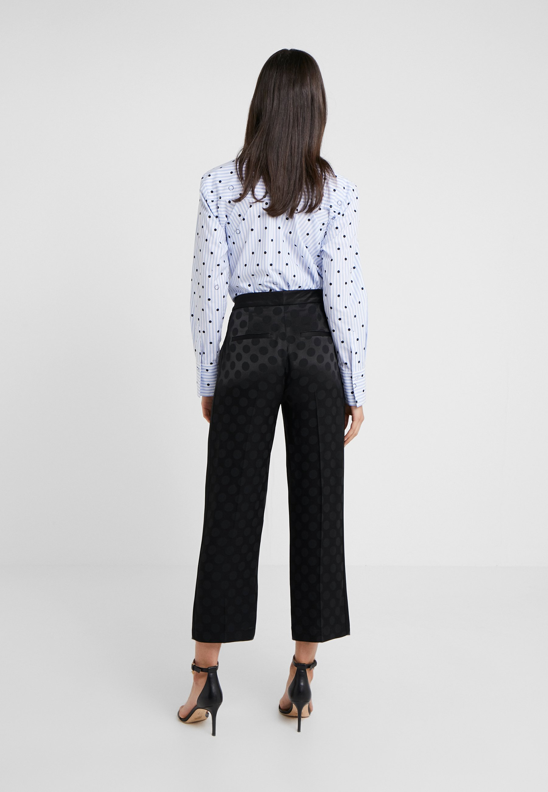 Black Tailored Lagerfeld Karl Classique PantsPantalon drxshQCt