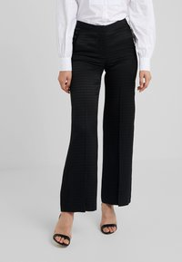 KARL LAGERFELD - PANTS HEAD - Pantalon classique - black - 0