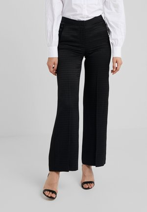 PANTS HEAD - Trousers - black