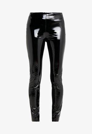 PATENT - Leggings - black
