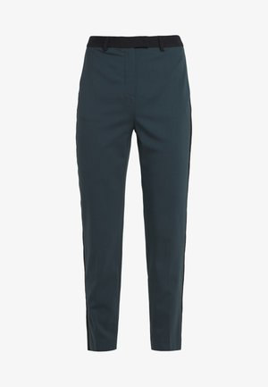 TAILORED CIGARETTE PANTS - Kalhoty - deep teal