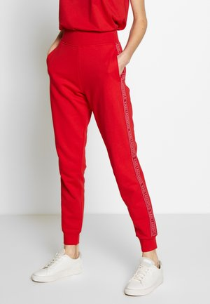 PANTS LOGO - Spodnie treningowe - red