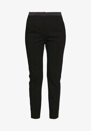 PUNTO PANTS  - Pantaloni - black